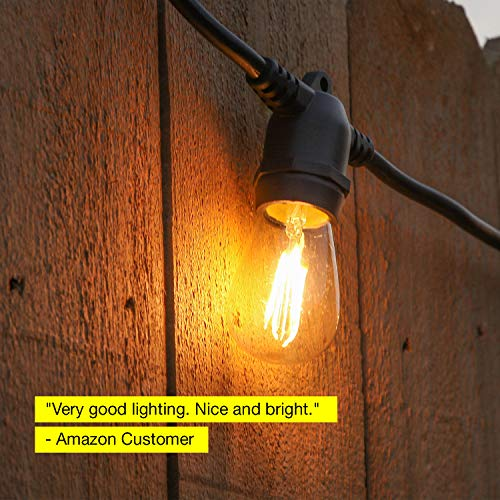 Outdoor String Lights Heavy Duty: Brightech Ambience Pro LED, Outdoor String Lights- Patio