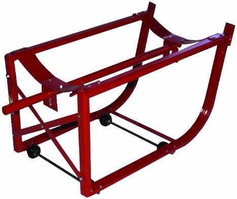 Milwaukee Hand Trucks 40158 55-Gallon Drum Cradle with Wheels