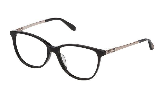 11635bcdbf556 Blumarine - Monture de lunettes - Femme Noir Noir 54  Amazon.fr ...
