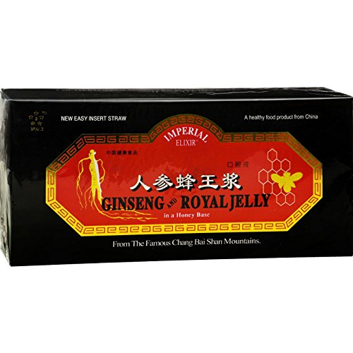 Imperial Elixir Ginseng and Royal Jelly -- 10 mg - 30 Bottles