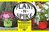 SPIKER Plant N Spike Planter, Green/White/Red For Sale