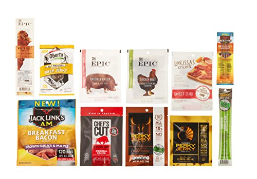 Jerky Sample Box, 10 or more items ($9.99 credit on select products with purchase)