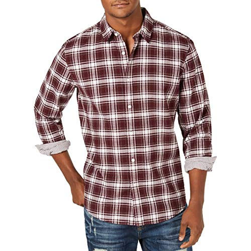AMERICAN RAG CIE Men's Button-Front Shirt Top from American Rag