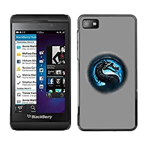 GagaDesign Phone Accessories: Hard Case Cover for Blackberry Z10 - MK Dragon
