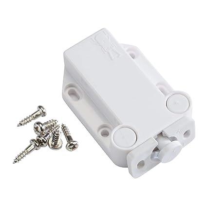Amazon com: Sugatsune LAMP Non-Magnetic Touch Latch Safe