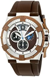 Stuhrling Original Men's 220.3376K59 Aviator Falcon Swiss Quartz Chronograph Date Watch