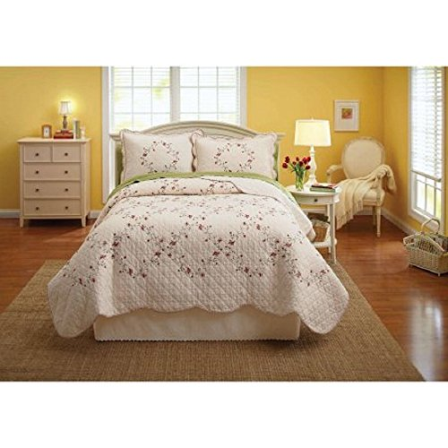English Garden Inspired Hannalore Bedding Quilt Collection (King Sham)