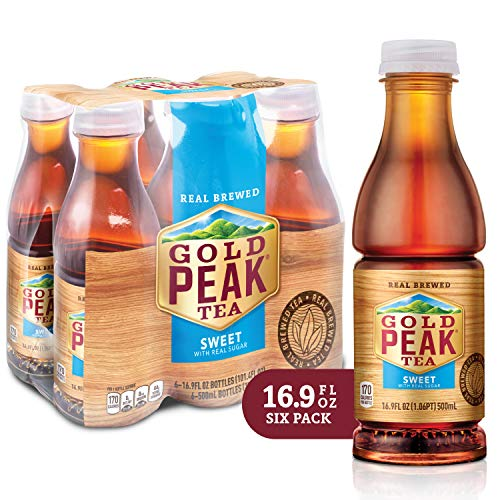 Gold Peak Sweetened Black Tea, 6 Count -