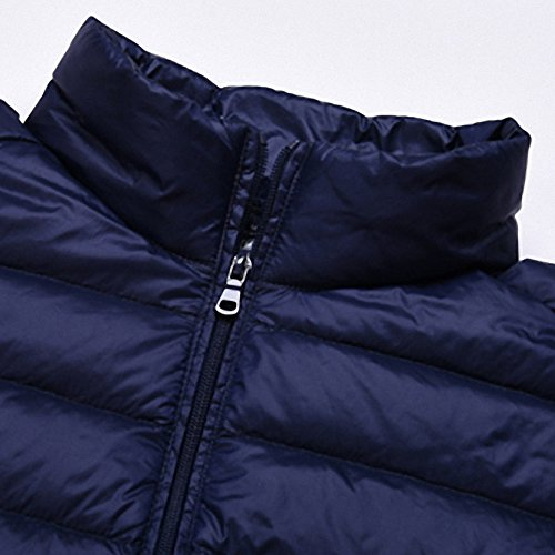 Women Puffer Blue and Yabliss Jacket Navy Packable Light Men's Down qXwdwzZT