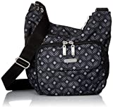 Baggallini Criss Cross Crossbody Bag – Lightweight, Water-Resistant Travel Purse With Multiple Pockets, Zippered Interior and Exterior Pockets and Built-In Wallet