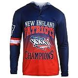 NFL New England Patriots Super Bowl XXXVI Champions Hoody Tee, X-Large