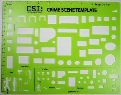 amazon com csi crime scene investigations crime scene drawing