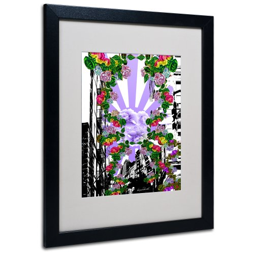 New City 4 by Miguel Paredes, Black Frame 16x20-Inch