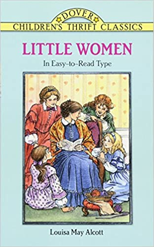 Amazon Little Women Dover Childrens Thrift Classics