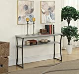 Cheap Convenience Concepts X-Calibur Console Table, Faux Birch