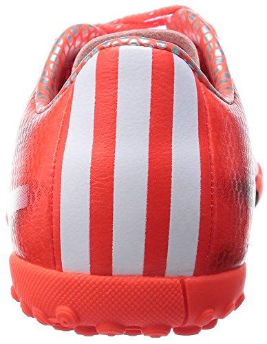 Adidas F10 Tf Junior Fotboll Stövlar, Orange / Svart, Us5.5