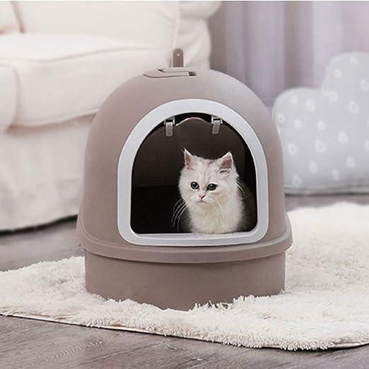 MZP Aseo Gato Arenero Sanitaria Caja De Arena Cubierta para Gatos ...