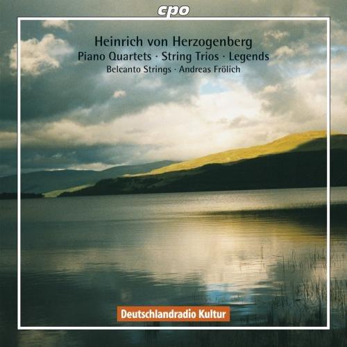 Legends Quartet (Von Herzogenberg: Piano Quartets / String Trios / Legends)