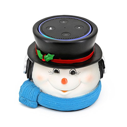 Dot Snowman (Snowman Speaker Stand for Amazon Echo Dot 2nd and 1st Generation, Jam Classic Speaker)