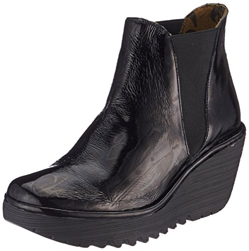 Londen Vrouwen Vliegen Yoss Laarzen Zwart (black)