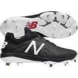 Kyпить New Balance Men's L4040v4 Metal Baseball Shoe, Black, 11 2E US на Amazon.com