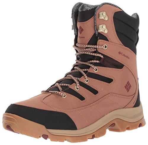 Omni Black Leather - Columbia Men's Gunnison Plus XT Omni-Heat Hiking Shoe, Black, Deep Rust, 7 D US