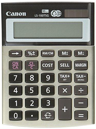 Canon LS-100TSG Mini-Desktop Calculator (4639B001) by Canon
