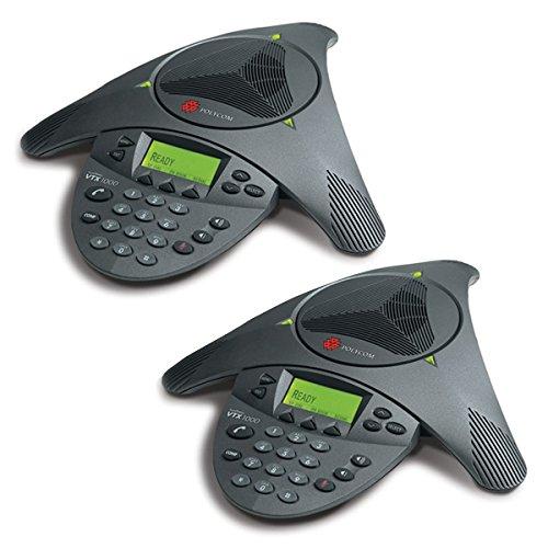 Polycom Soundstation VTX 1000 Conference Phone Console - Black