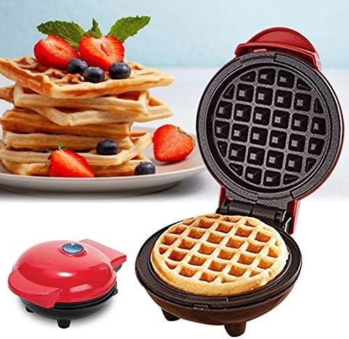 Gaufrier Gaufres Maker Mini Petit Déjeuner Gaufre Machine Egg Gâteau De Crêpes Antiadhésif De Cuisson Gaufres Pan Électrique Eggette Machine Pour La Cuisine
