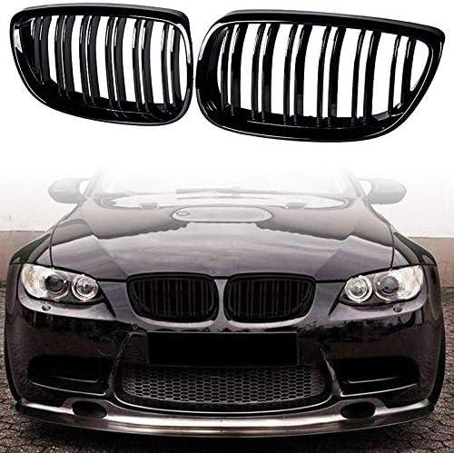 Parrilla Delantera Riñones Negro Par Izquierda /& Derecho BMW 3 E92 E93 2006-2010 Nuevo