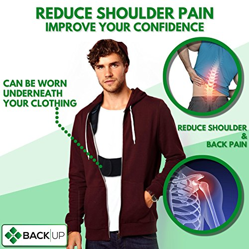 Back-up | Comfortable & Effective Posture Corrector for Women & Men | Clavicle & Shoulder Brace | Back Support | Lower & Upper Back Pain Relief | Cervical & Lumbar Support - Fully Adjustable by Raitera Health & Wellness (Image #2)