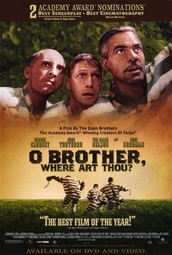 O Brother Where Art Thou? Faces Movie Poster