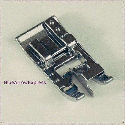 BlueArrowExpress Brother Snap-on Stitch In The Ditch / Edge-Joining Foot - SA184 for Models Listed