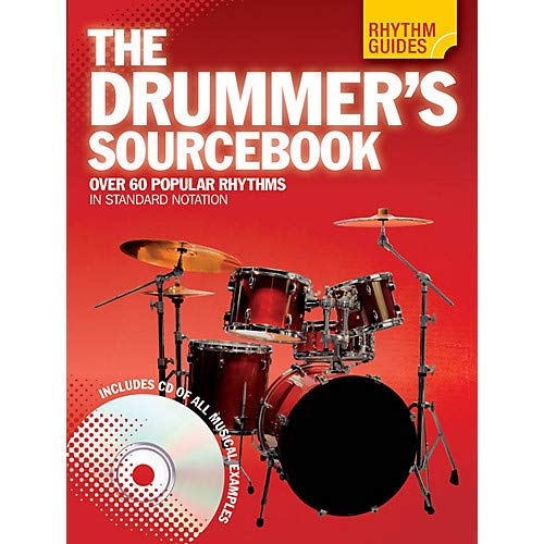 Rhythm Guides The Drummer's Sourcebook Drum Instruction Series Softcover with CD Written by Various Pack of 2