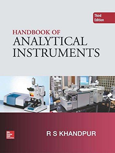 Handbook Of Analytical Instruments, 3 Edition