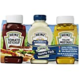 Heinz Ketchup Mayonnaise and Mustard Variety Pack, 3 Bottles (Pack of 4)