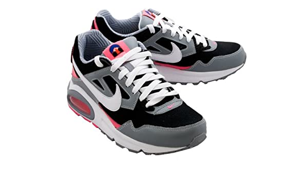 nice shoes a9447 386cd Amazon.com | Nike Womens Air Max Skyline Running Shoes (Black/White-Stealth-Pink  Flash) 8.5 | Running
