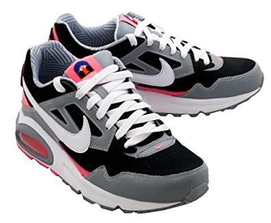 low priced 49722 c39b8 Amazon.com   Nike Womens Air Max Skyline Running Shoes  (Black White-Stealth-Pink flash) 8.5   Running