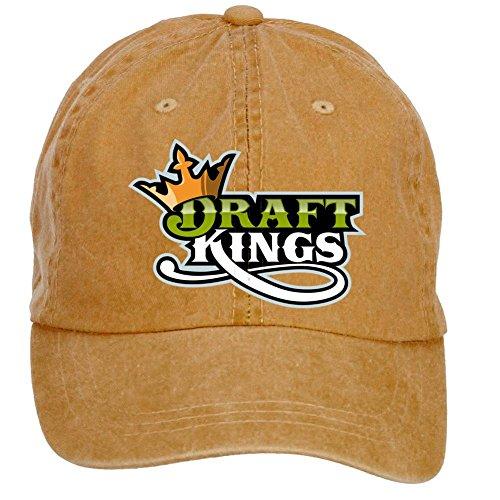 Tommery Unisex DraftKings Logo Hip Hop Baseball Caps