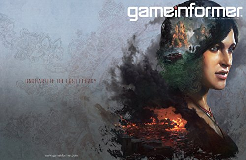Game Informer 288 - The World's #1 Video Game Magazine - April 2017 - Uncharted: The Lost Legacy