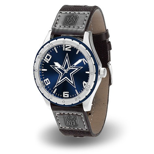 Dallas Cowboys Gambit Watch - Licensed NFL Football Merchandise Dallas Cowboys Nfl Crystal