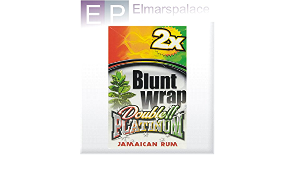 Compra Blunt Platinum Double Wrap Diseño de Ron jamaicano 75 ...