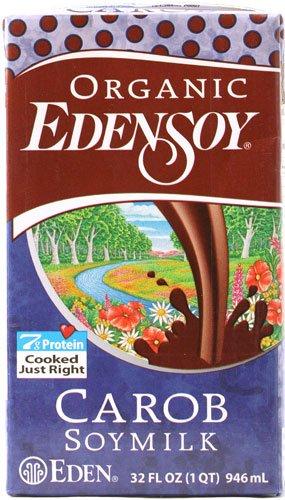 Eden Foods Organic EdenSoy Soymilk Carob -- 32 fl oz - 2 pc