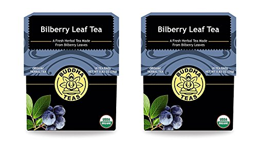 Bilberry Leaf Tea Organic Bleach product image