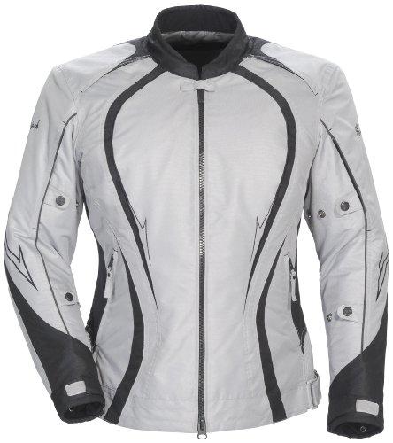 Cortech LRX Series 3 Womens Silver/Black Textile Jacket - Plus Medium