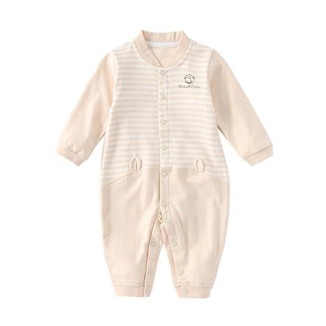 baonmy Unisex recién nacido bebé polar),, bebé Pelele Body Ropa de algodón Talla