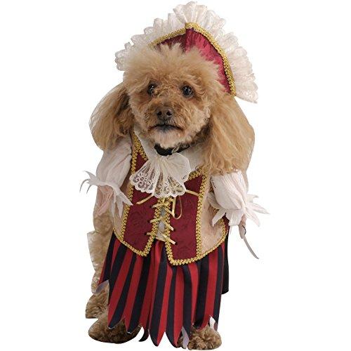 (Rubie's Costume Co. Pirate Queen Pet Costume, Medium, Multicolor 885915-M)
