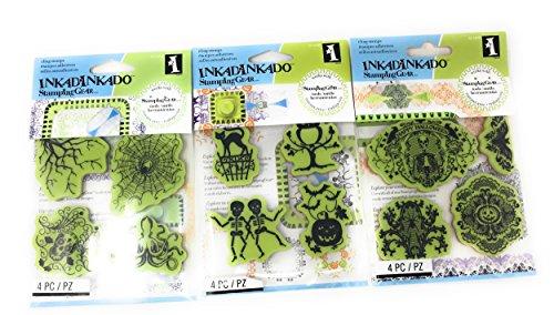 Inkadinkado Stamping Halloween Bundle Stamps