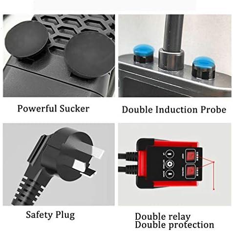 水中アクアリウムヒーター、LEDディスプレイ恒温水槽ヒーター、過熱保護、水と電源オフ、外部温度調整