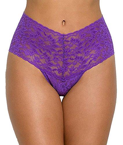 (Orlando Johanson New Women's Retro Thong Royal PurpleOne Size (fits 0-12))